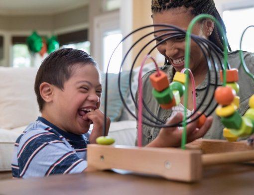 brincadeiras para crianças com síndrome de down
