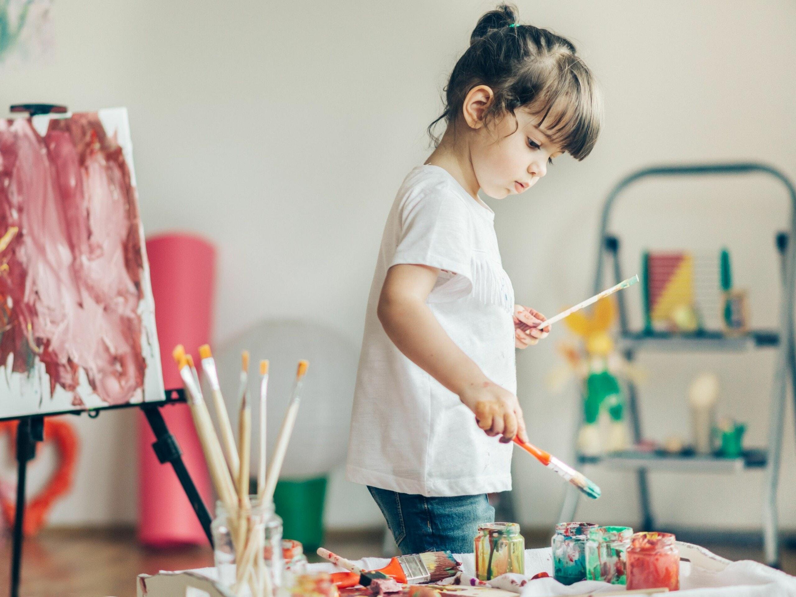 arte no desenvolvimento infantil