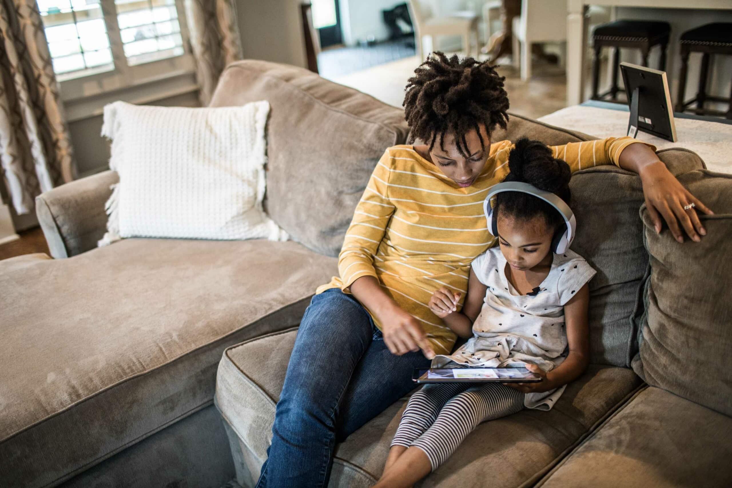 manter as crianças seguras na internet
