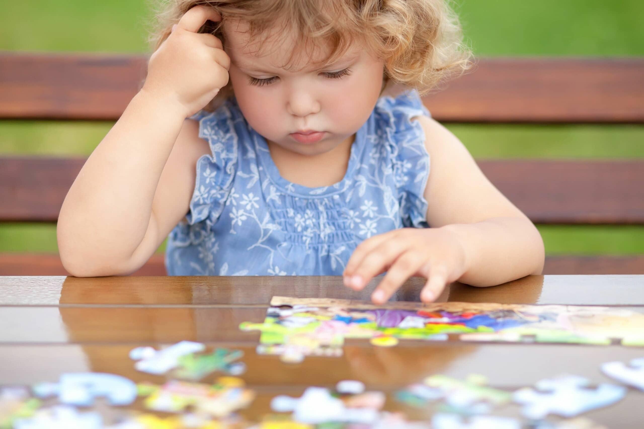 concentração infantil