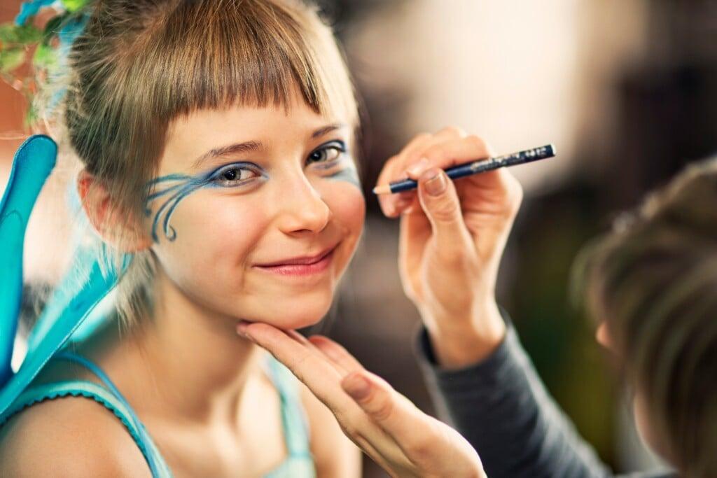 criança pode usar maquiagem