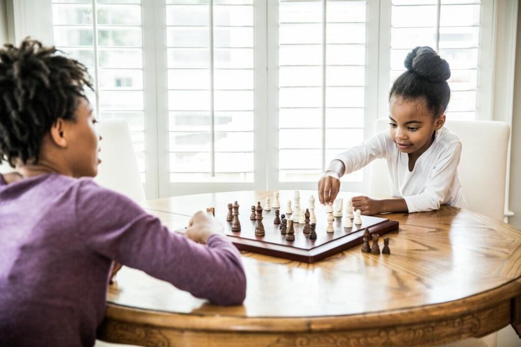 jogo de xadrez para crianças