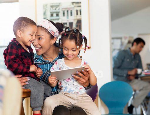 Manter relação saudável entre as crianças e a tecnologia